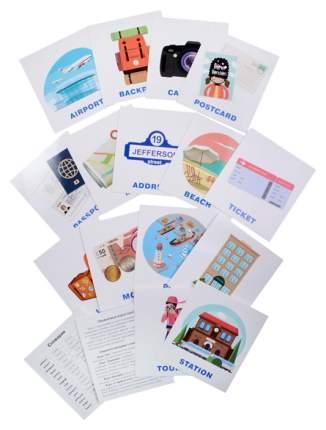 Набор карточек для Детей Айрис-Пресс Умный Малыш. English. путешествие. Iq-Малыш