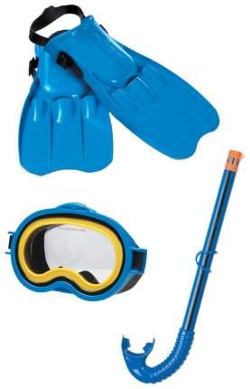 Набор для плавания Intex Master Class голубой/желтый