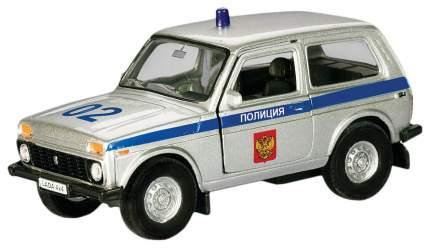 Коллекционная модель Autotime Lada 4x4 Полиция1:36 37026