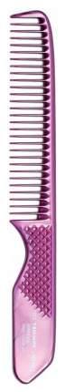 Расческа Dewal Triumph с рифленой ручкой Розовый