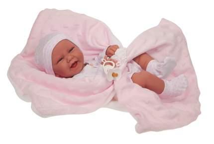 Кукла Antonio Juan Младенец Ирен в розовом 42 см