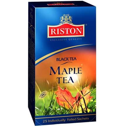 Чай Riston кленовый сироп черный 25 пакетиков