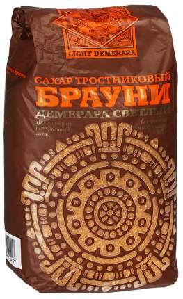 Сахар коричневый Брауни тростниковый лайт 0.9 кг