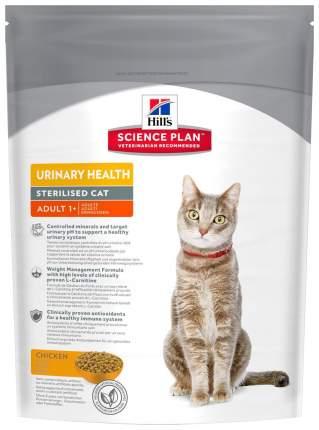 Сухой корм для кошек Hill's Science Plan Urinary Sterilised, для стерилизованных, 0,3кг