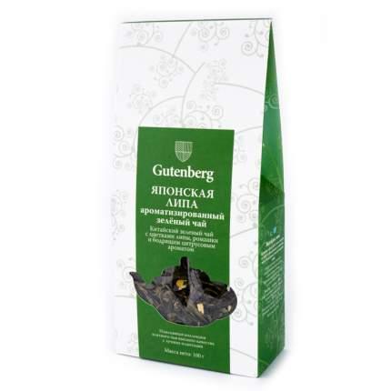 Чай зеленый Gutenberg японская липа 100 г