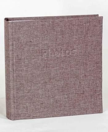 """Фотоальбом """"Льняная ткань"""" тканевая обложка, 200 фото 10х15 см, кармашки"""