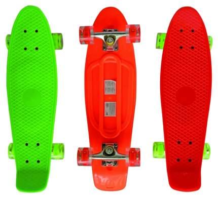 Детский скейтборд Navigator Т59505 Оранжевый, зеленый, красный