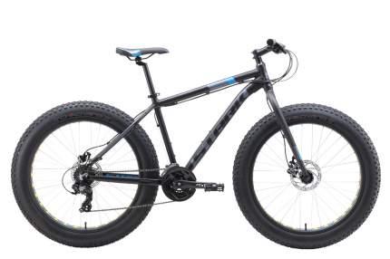"Велосипед Stark Fat 26.2 D 2019 18"" black/blue/gray"