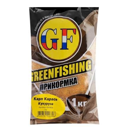 Прикормка летняя Green Fishing  Карп/Карась Кукуруза 1 кг