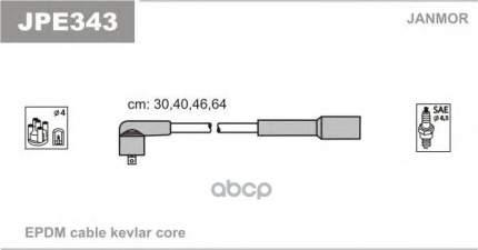 Комплект проводов зажигания JANMOR JPE343