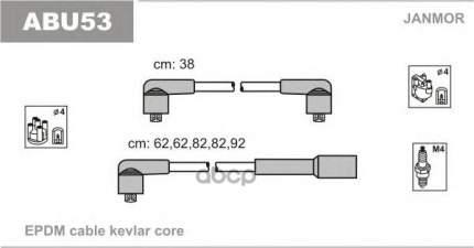 Комплект проводов зажигания JANMOR ABU53