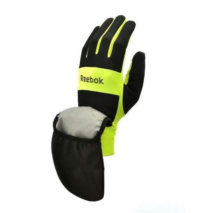 Всепогодные перчатки для бега Reebok RRGL-10134YL желтые L