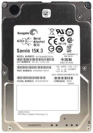 Внутренний жесткий диск Seagate Enterprise Performance 15K 300GB (ST9300653SS)