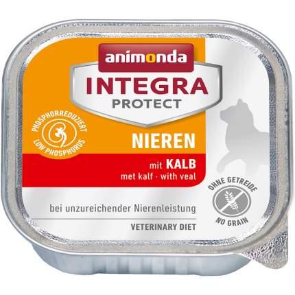 Консервы для кошек Animonda Integra Protect Cat RENAL, телятина, курица, 100г