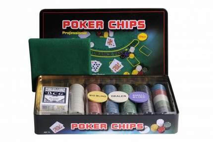 Набор для покера Partida Holdem Light на 300 фишек с номиналом