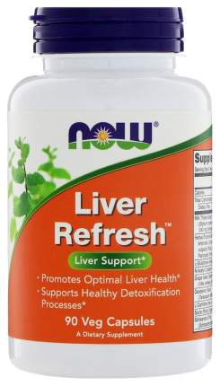 Для печени NOW Liver Refresh 90 капсул