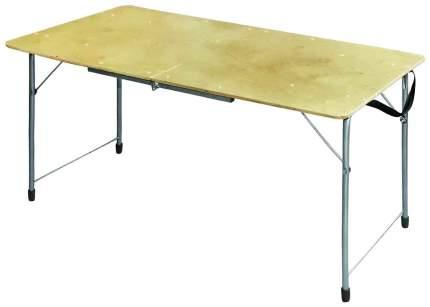 Туристический стол Nika ПСТ серый/коричневый