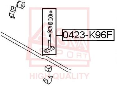 Стойка стабилизатора ASVA 0423-K96F