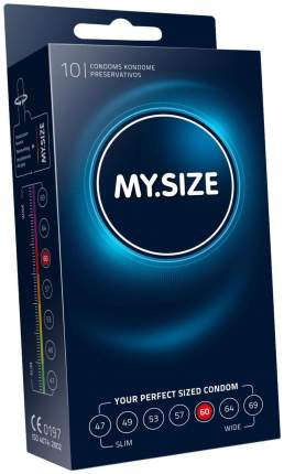 Презервативы My.Size р. 60 10 шт.