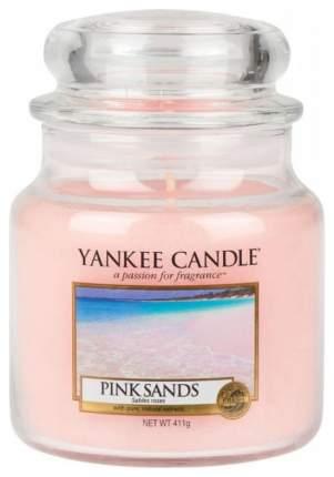 Ароматическая свеча Yankee Candle Pink Sands Medium Jar Candle