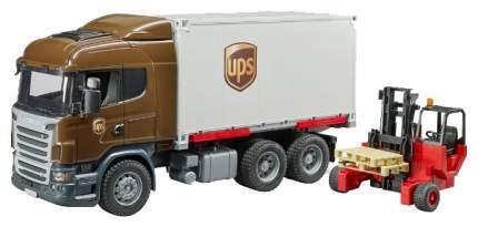 Строительная техника Bruder Scania фургон 03-581