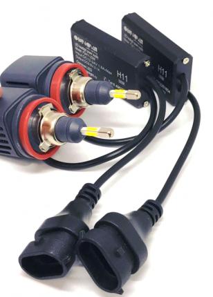 Комплект светодиодных ламп F2 LED H11 22w  (5000К)