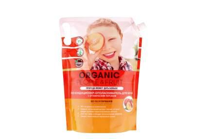 Кондиционер-ополаскиватель Organic people fruit для белья с органическим персиком 2 л