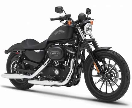 Мотоцикл Maisto чёрный Harley Davidson Sporster Iron 883 2014г 1:12