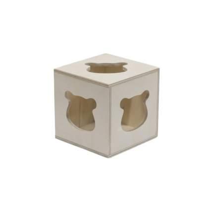 Игрушка для грызунов Doradowood Куб