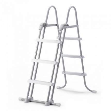 Intex, Лестница для бассейнов до 107см, 3 ступеньки, без площадки, с защитой, 28075