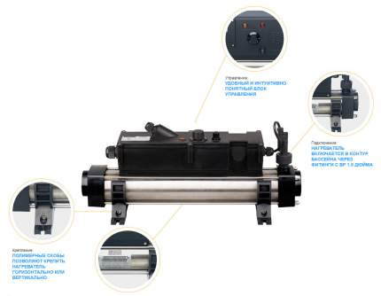 Elecro, Электронагреватель Elecro Flow Line 806B Incoloy 6 кВт 230В, AQ17833