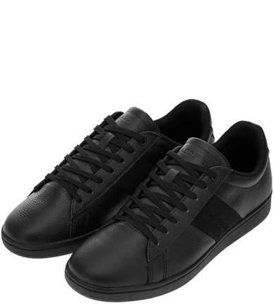 Кеды мужские Lacoste 738SMA001402HT черные 10 FR