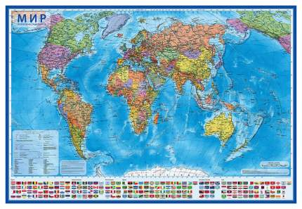 Карта GLOBEN КН046 Мир Политический 1:28