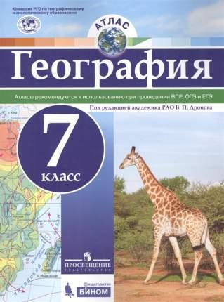 Атлас. География. 7 кл. под Ред. Дронова Рго