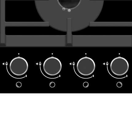 Встраиваемая варочная панель газовая Gorenje GT641UB Black