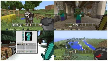 Игра Minecraft для Xbox 360