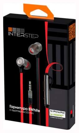 Наушники InterStep BWhite Red