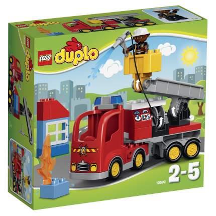 Конструктор LEGO Duplo Town Пожарный грузовик (10592)