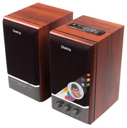 Колонки компьютерные Dialog Disco AD-07 2x12Вт вишневые