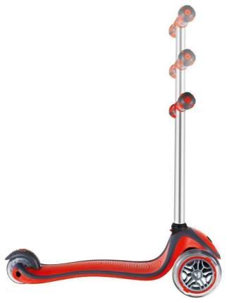 Самокат трехколесный Y-Scoo Globber My free New Technology с блокировкой колес red