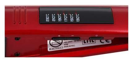 Выпрямитель волос GA.MA P21.ELEGANCE LED Red/Black