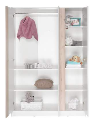 Шкаф детский Geuther Wave белый/бук