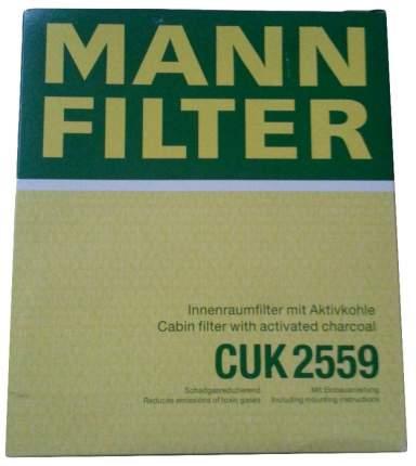 Фильтр воздушный салона MANN-FILTER CUK2559