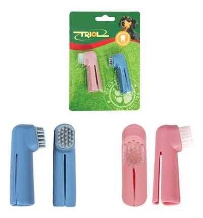Зубная щетка-напальчник для животных Triol 6 см