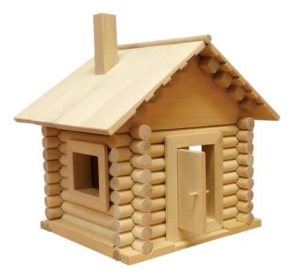 Конструктор деревянный Пелси Заюшкина избушка