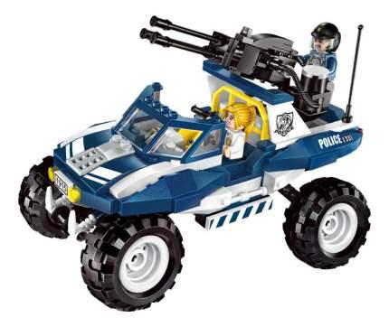Конструктор пластиковый Brick Полицейская машина