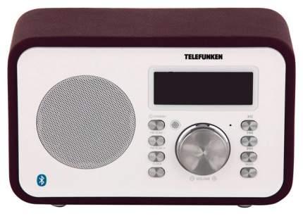 Радио-часы Telefunken TF-1581UB Фиолетовый