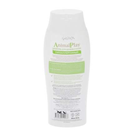 Шампунь для котят и щенков Animal Play Гипоаллергенный, протеины пшеницы и витамины, 250мл