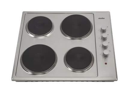 Встраиваемая варочная панель электрическая Simfer H60E04M011 Silver