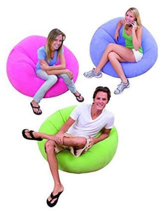 Кресло надувное Intex Beanless Bag Chair 68569 107*69 см